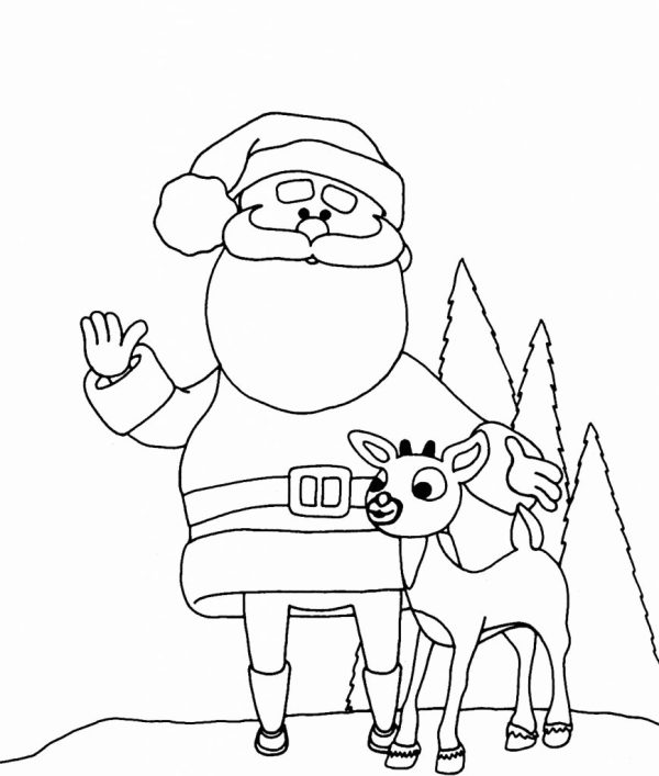 Christmas Coloring Pages for Preschoolers - Best Coloring ...