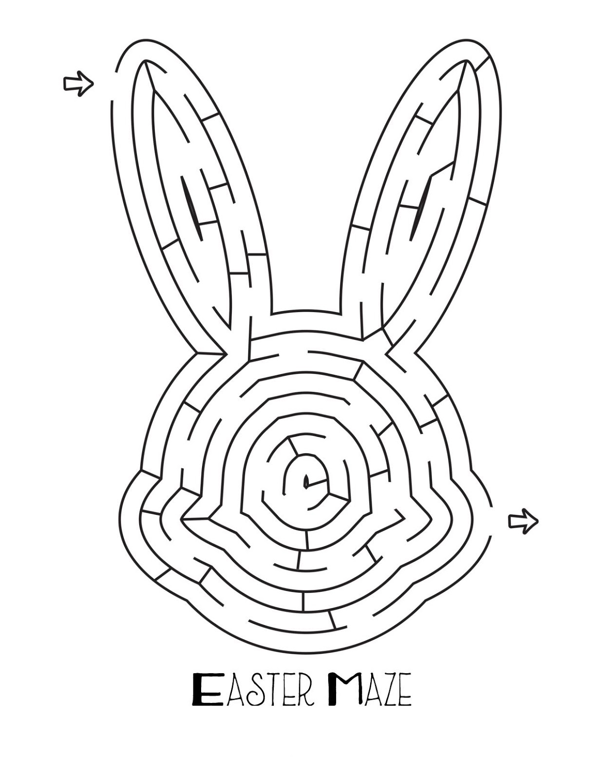Easter Mazes