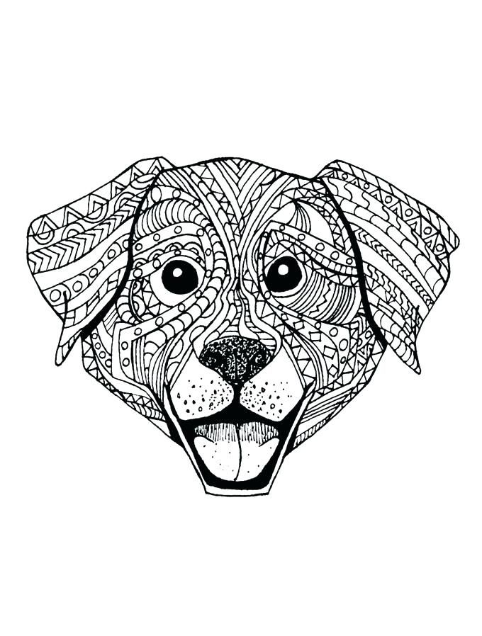 Animal Mandala Coloring Pages - Best Coloring Pages For Kids | colouring pages mandala animals