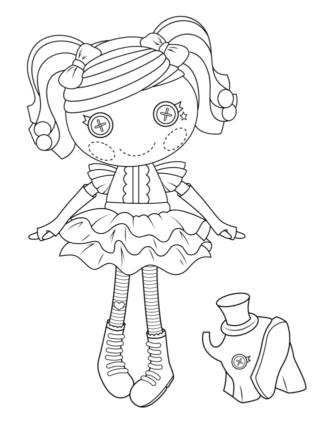 Doll Coloring Pages - Best Coloring Pages For Kids