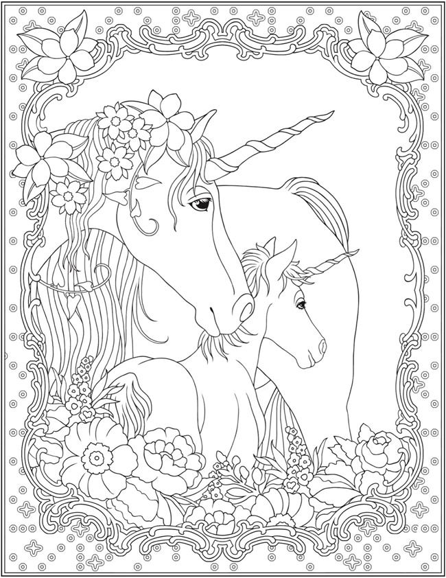 Unicorn Coloring Pages for Adults - Best Coloring Pages ...   free printable coloring pages for adults unicorns