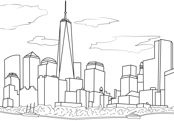 city coloring pages # 17