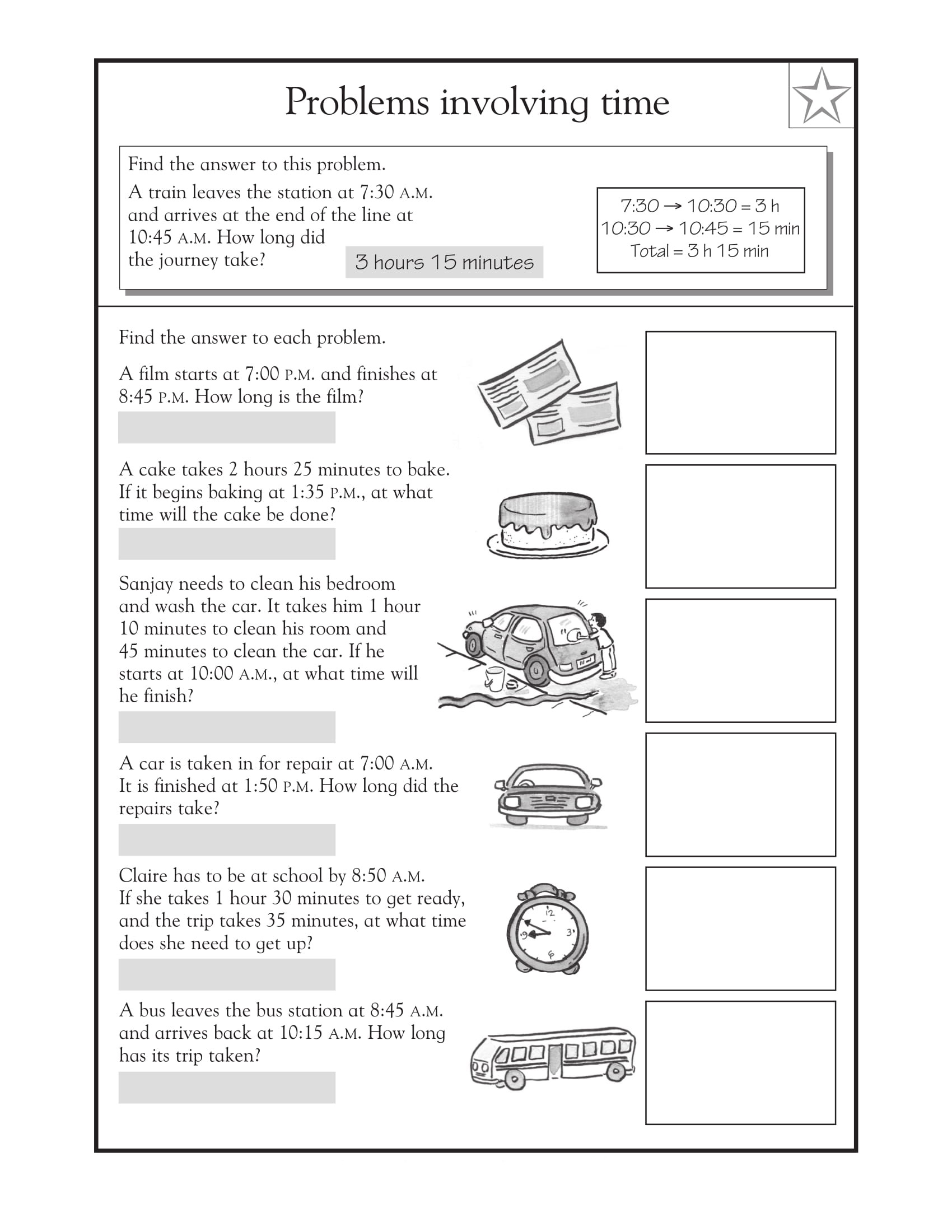 Sports Word Problem Worksheets