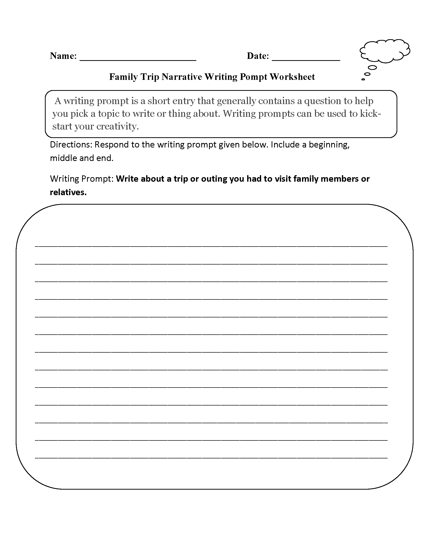 30 Third Grade Writing Worksheet
