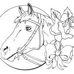 Free Horse Coloring Pages For Adults Kids Cowgirl Magazine