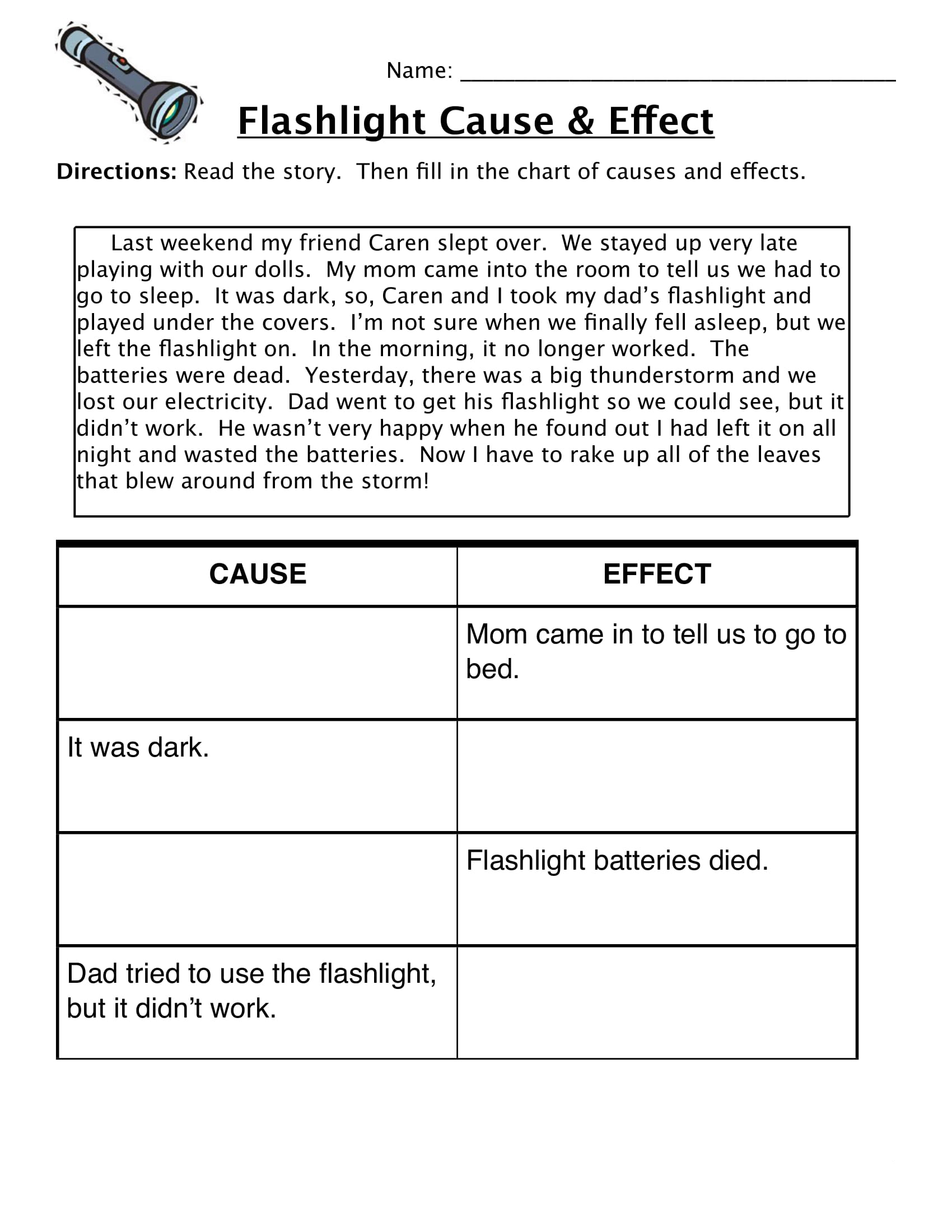 4th Grade Reading Comprehension Worksheets