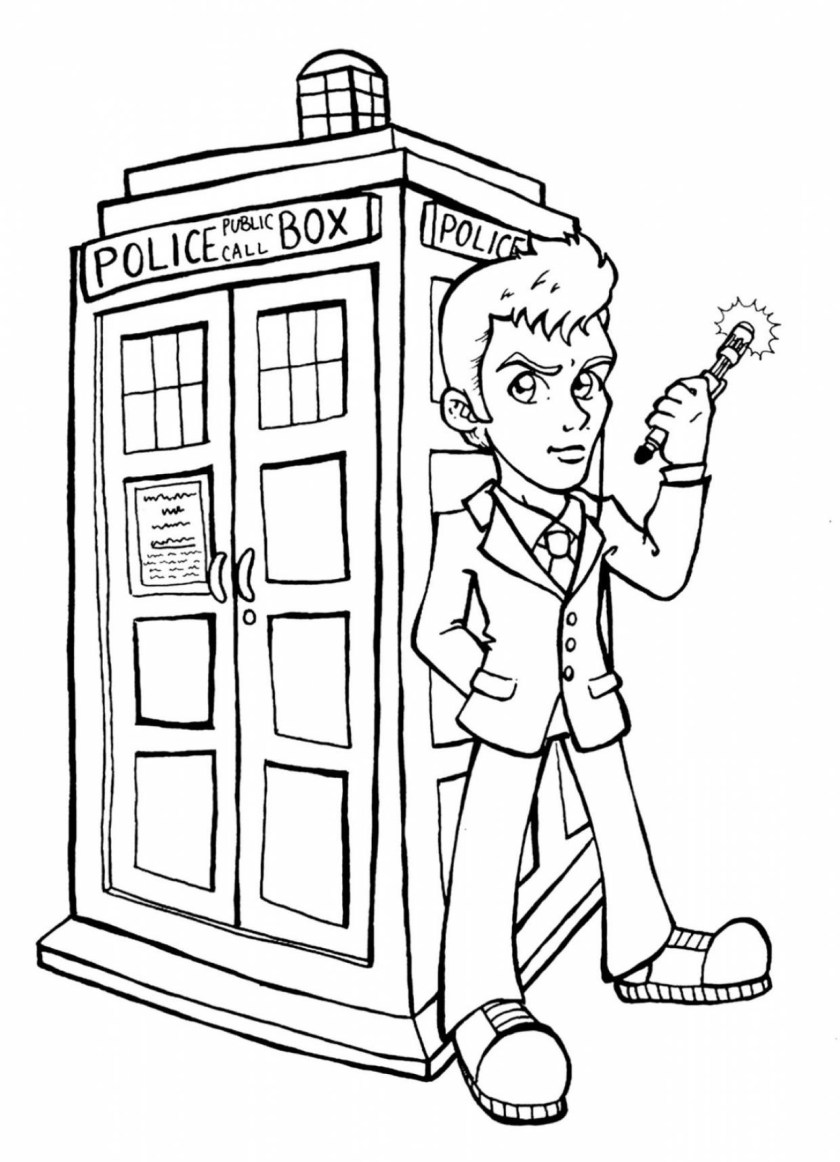 10 best doctor who coloring book for kids  best coloring