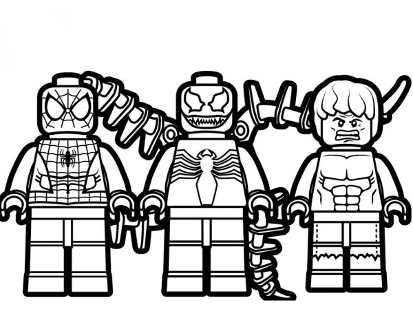 lego avengers coloring pages # 25