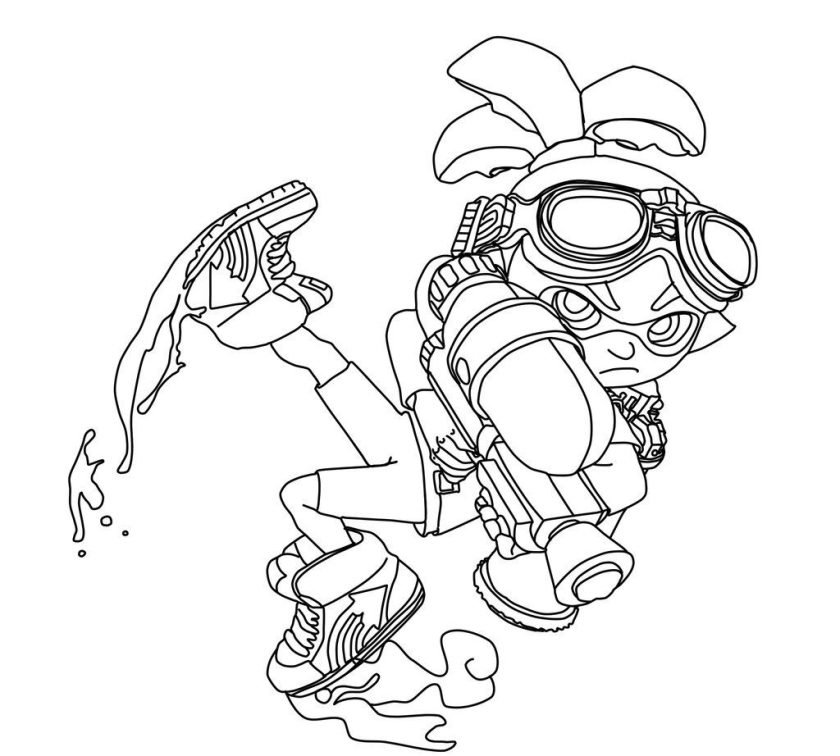 splatoon coloring pages  best coloring pages for kids
