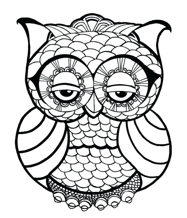 Easy Coloring Pages for Adults - Best Coloring Pages For Kids | printable coloring pages easy