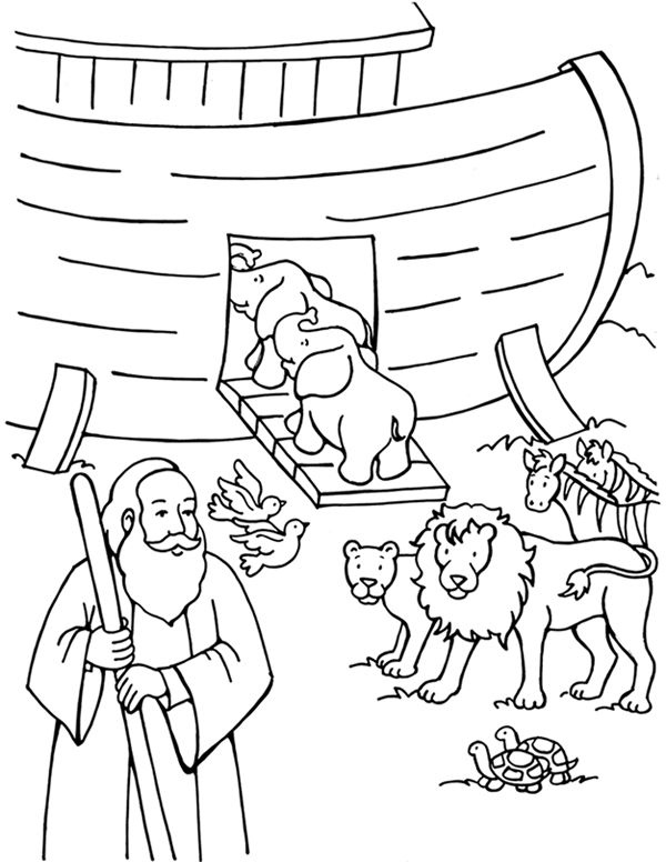 Noahs Ark Coloring Pages Best Coloring Pages For Kids