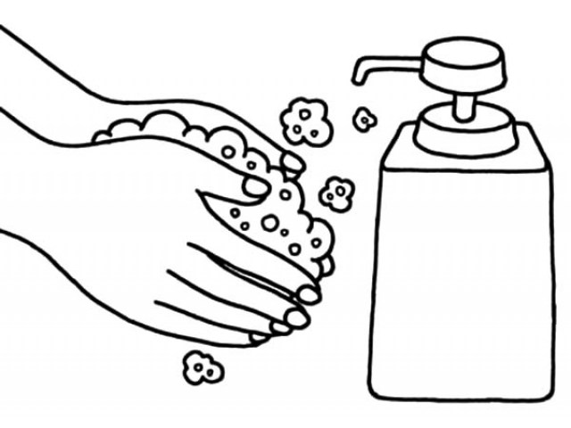 Washing Hands Coloring Pages - Best Coloring Pages For Kids