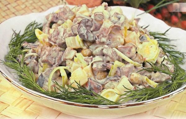 Мясной салат рецепт, мясные салаты рецепты с фото, салат ...
