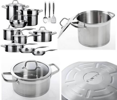 Duxtop Secura SSIB17 cookware set