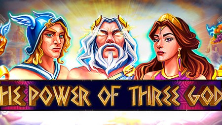 """""""The Power of Three Gods"""" slot tournament available at 1xBit casino"""