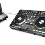 Mixtrack Pro DJ Controller with laptop