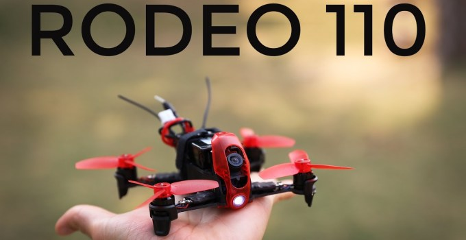 Drone Walkera Rodeo 110 rosso