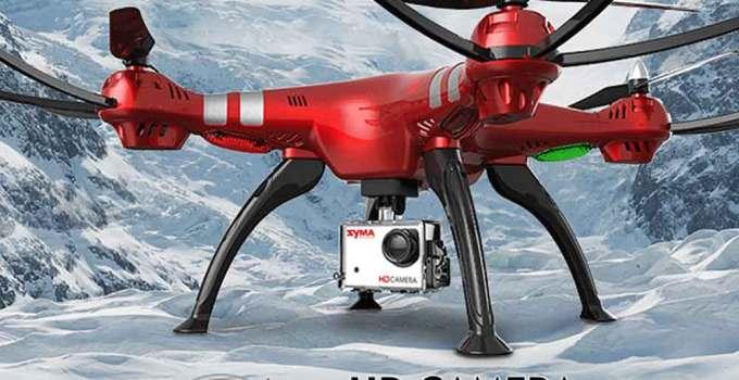 Drone Syma X8HG rosso