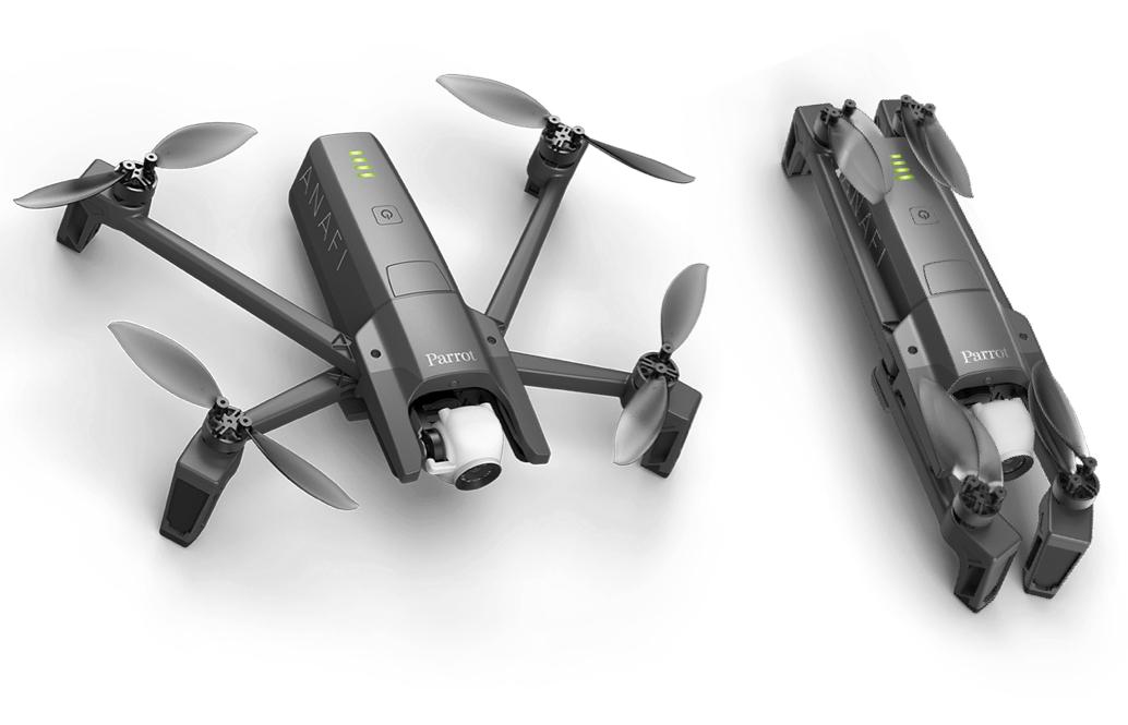 Drone Parrot Anafi con Intelligenza Artificiale