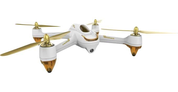 Hubsan-H501S bianco e oro