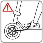 elektrische step veiligheid - kabels