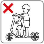 elektrische step veiligheid - alleen rijden