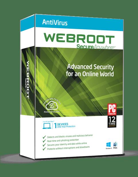 antivirusscsanner van webroot