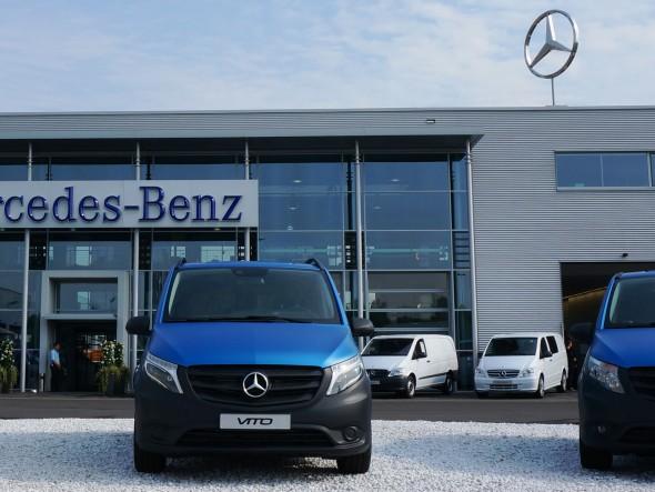 Mercedes benz Vans Sterservice
