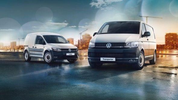 Vw Biedt Economy Business Editions Van Caddy En Transporter