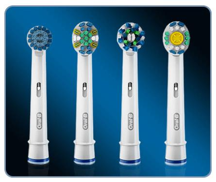 Oral-B Pro 7000 4 replace brushheads