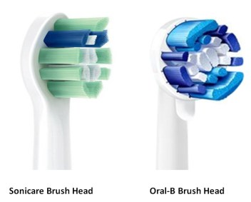 sonicare oral-b brushhead