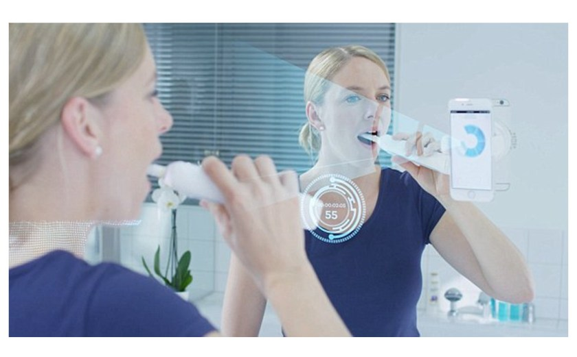 oral b smart phone holder