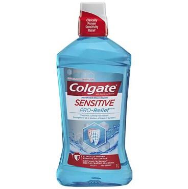 Colgate Sensitive Pro Relief Mouthwash Pro Argin Alcohol Free