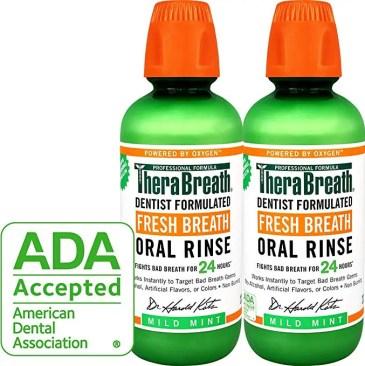 TheraBreath – Fresh Breath Oral Rinse