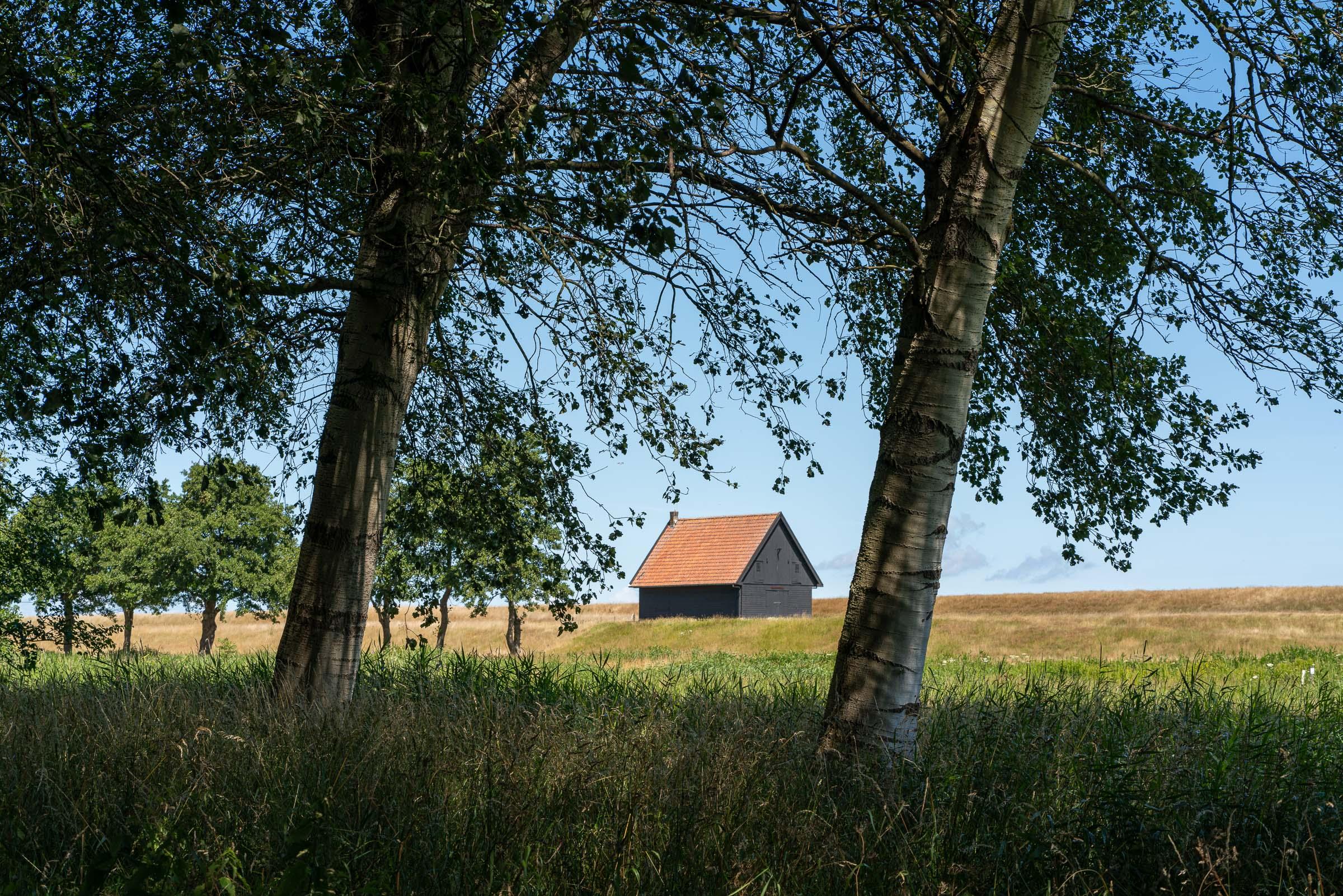 Wandelen in de Wieringermeer