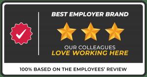 Best Employer Brand Official Badge