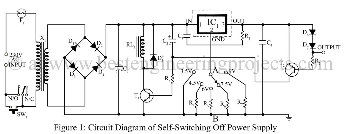 Schematic Diagram Of A Power Supply - Facbooik.com