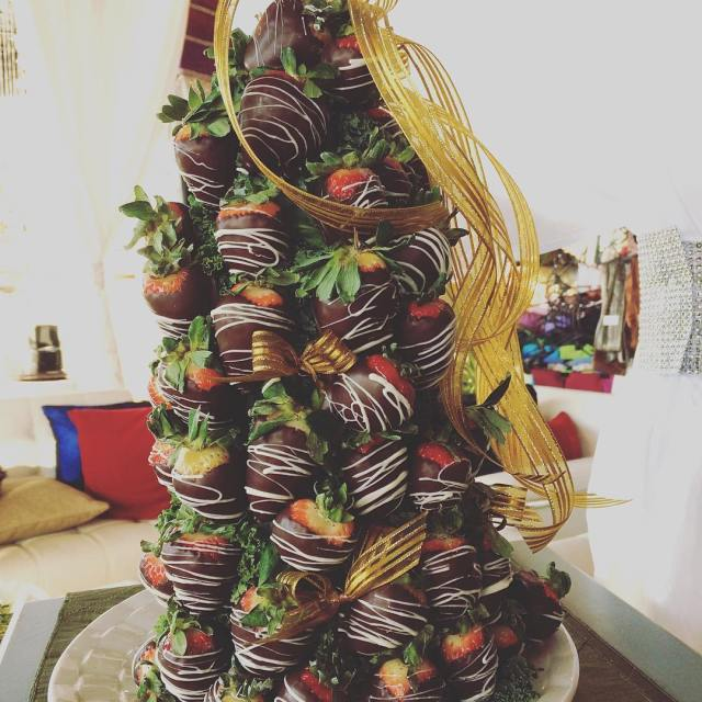 Our annual strawberry Christmas tree! catering janesvillewi igwisconsin weddingtheme lovehellip