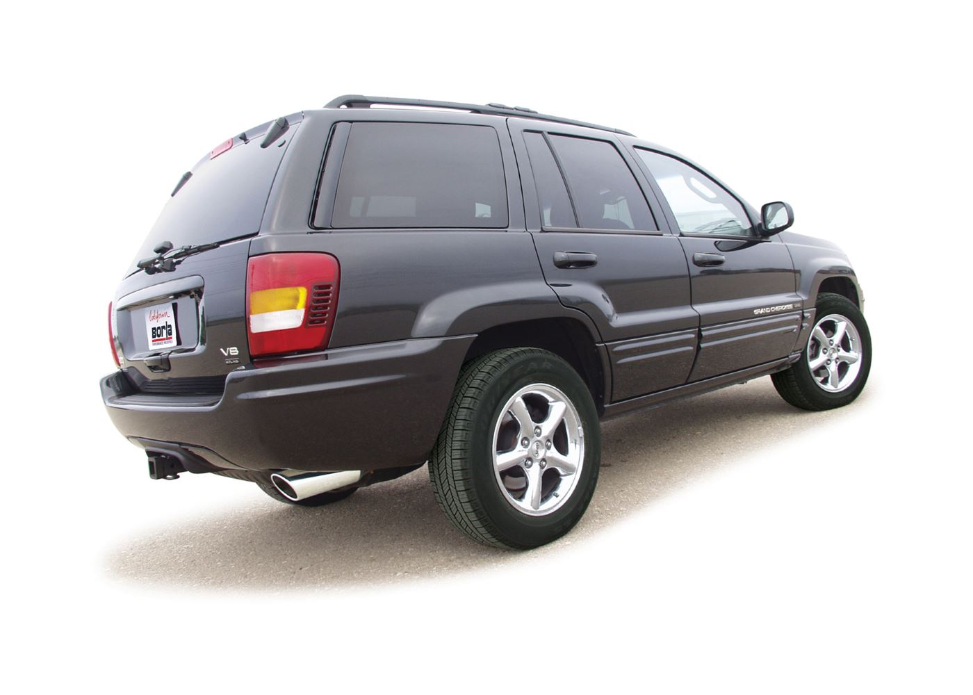 jeep wj grand cherokee 1999 2004 cat back exhaust touring