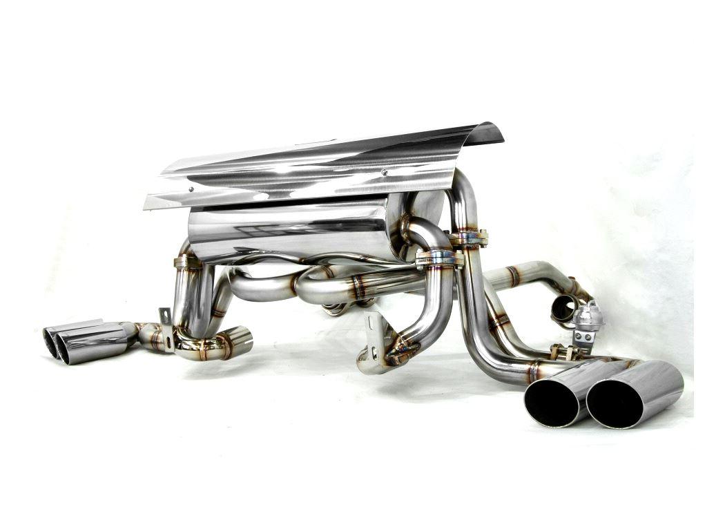 ferrari 360 cat back f1 sound valve system super howling ver