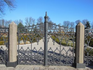 a new iron fence in San Antonio Texas