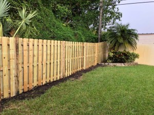 fencing company doing a fence repair in San Antonio