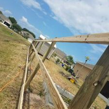 a fence repair in san antonio texas done by fence builders