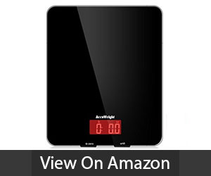 AccuWeight Digital Kitchen Food Scale Review
