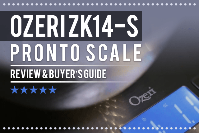 Ozeri ZK14-S Pronto Digital Multifunction Scale Review & Buyer's Guide