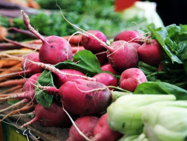 Radishes at the Farmer's Market