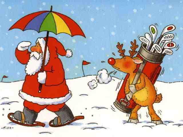 Wallpaper Claus Dirty Santa