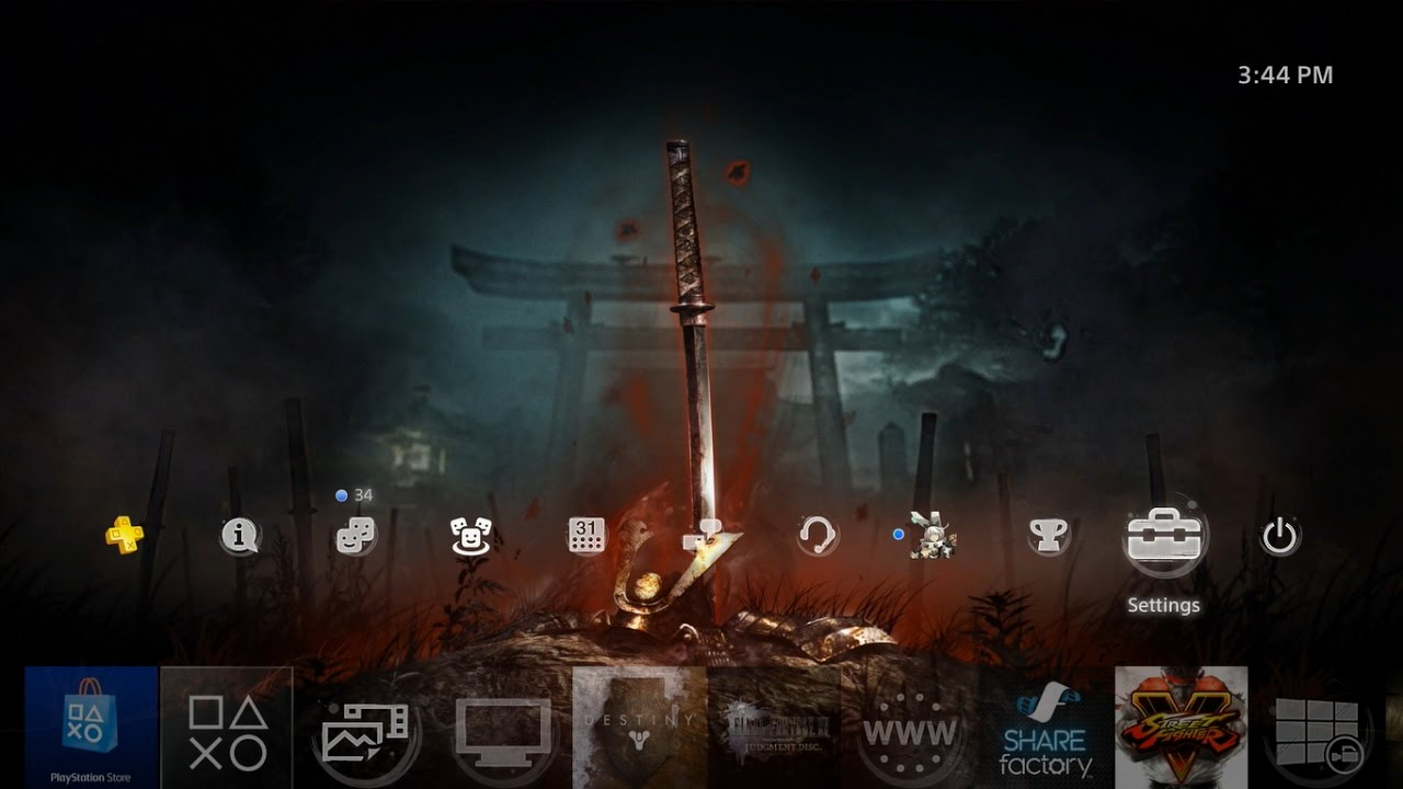 Nioh Bloody Grave Dynamic Theme