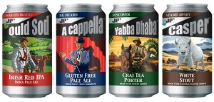 james page brewery gluten free beer A Capella pale ale