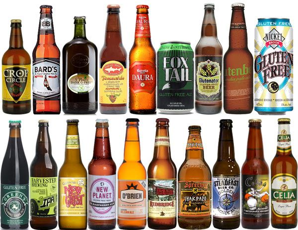 Best Gluten Free Beer Brands - 2017 List